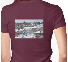 The Morning after a Big Snowstorm in Toronto, ON, Canada Womens Fitted T-Shirt