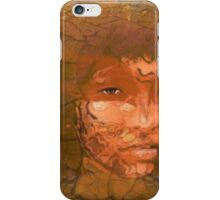 Serene warrior iPhone Case/Skin