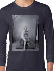 Amy Schumer by Annie Leibovitz Long Sleeve T-Shirt