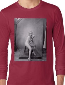 Amy Schumer by Annie Leibovitz Long Sleeve T-Shirt