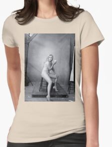 Amy Schumer by Annie Leibovitz Womens Fitted T-Shirt