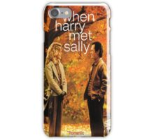 When Harry Met Sally iPhone Case/Skin