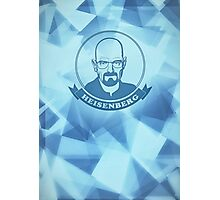Walter White - Heisenberg - Blue Meth Edition Photographic Print