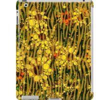 Yellow Flowers in Tall Grass iPad Case/Skin