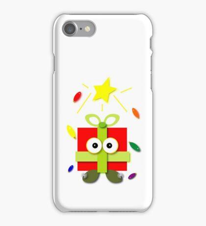 Gifted Kawaii Cartoon Christmas Present iPhone Case/Skin