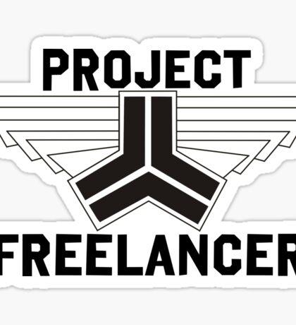 Red vs Blue: Project Freelancer Sticker