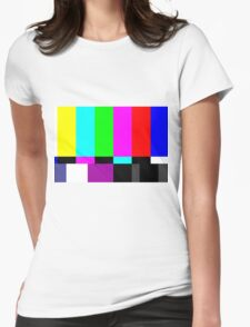 Colorbars Womens Fitted T-Shirt