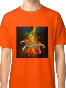 Alien City In Space Classic T-Shirt