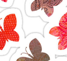 Butterfly Picnic Sticker