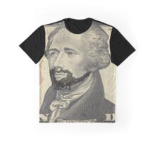 Lin-Manuel Miranda is Alexander Hamilton $10 Bill Graphic T-Shirt