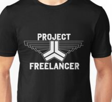 Red vs Blue: Project Freelancer (white) Unisex T-Shirt