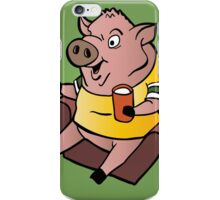 The Sports Pig iPhone Case/Skin