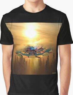 Ufo in the sky Graphic T-Shirt