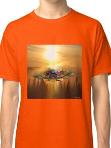 Ufo in the sky Classic T-Shirt