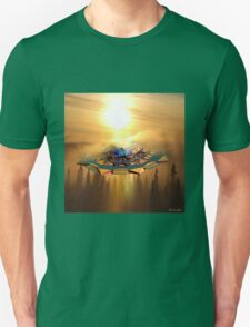 Ufo in the sky Unisex T-Shirt