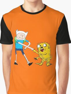Adventure Time with Dr. Seuss Graphic T-Shirt