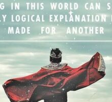C.S. Lewis - Made For Another World Sticker