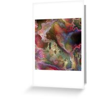 Vibrant Decay 1 Greeting Card
