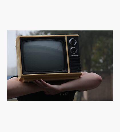 TV Head Photographic Print