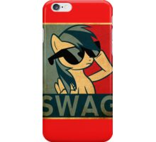 Rainbow dash SWAG iPhone Case/Skin