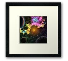 Amazing Space  Framed Print