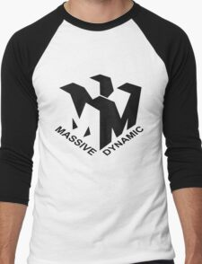 Massive Dynamic Men's Baseball ¾ T-Shirt