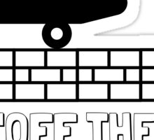 "Vans ""Off The Wall"" Sticker Sticker"