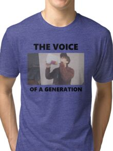 Leafy - The voice of a generation Tri-blend T-Shirt