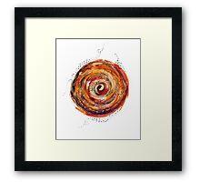 little world - mars Framed Print