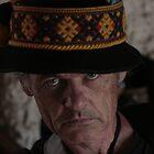 Lemko highlander folk-costumes - Portrait Doctor Andrzej Goszcz. No.2. Tribute to Andy Varhol. by © Andrzej Goszcz,M.D. Ph.D