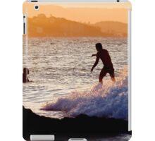 Sundown Surfing iPad Case/Skin