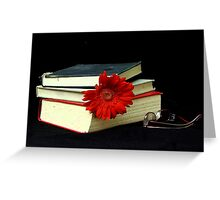 The Books Greeting Card