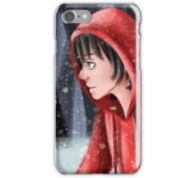Little snow and dream iPhone Case/Skin