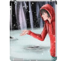 Little snow and dream iPad Case/Skin