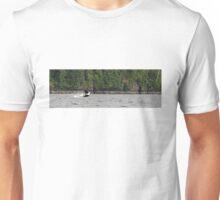 Breaching Orca Unisex T-Shirt