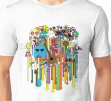 melting faces hippies Unisex T-Shirt