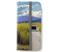 Open rural kitchen iPhone Wallet/Case/Skin