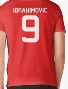 Ibrahimovic #9  Mens V-Neck T-Shirt