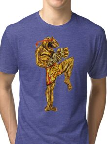 Tiger Fitness Tri-blend T-Shirt