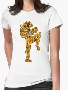 Tiger Fitness Womens Fitted T-Shirt