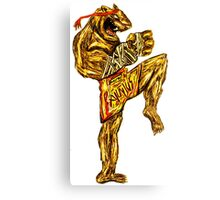 Tiger Fitness Canvas Print