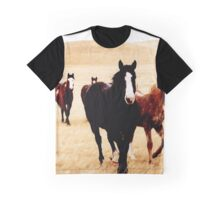 wild horses Graphic T-Shirt