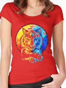 Zen Tiger Women's Fitted Scoop T-Shirt