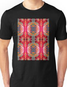Hibiscus Stamen Macro Pattern Unisex T-Shirt