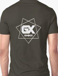 GiMMiX Logo (White on Black) Unisex T-Shirt