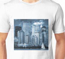 Manhattan, New York, NY, skyline, cityscape Unisex T-Shirt