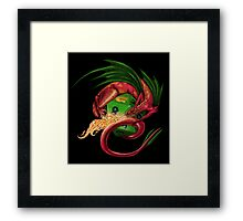 A Song of Dice and Flame Framed Print