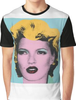 Banksy - Kate Moss Graphic T-Shirt