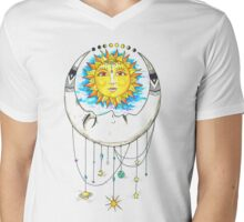 Astronomical Harmony Mens V-Neck T-Shirt