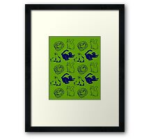 Pile of kittens Framed Print